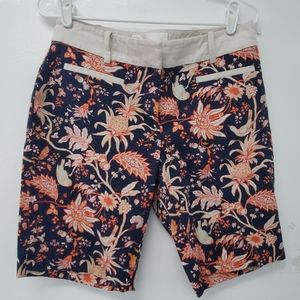 Anthropologie Leifsdottir tropical shorts